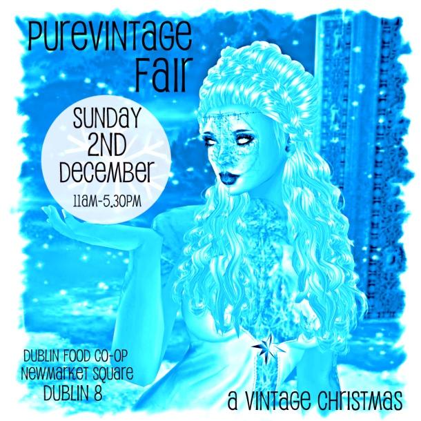 Where There's a Wool at Purevintage Fair, Dublin - Dec 2
